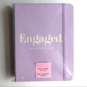 NWT Kate Spade Bridal Appointment Calendar Engaged